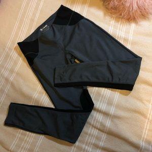MPG // black + grey athletic leggings